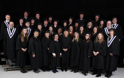 Félicitations à nos 201 diplômés! Remise des diplômes 2018