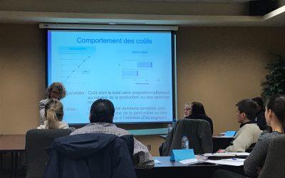 La formation MPA « Analyse du coût de revient en vue d'une prise de décision stratégique » à la MRC des Chenaux (Saint-Luc-de-Vincennes)