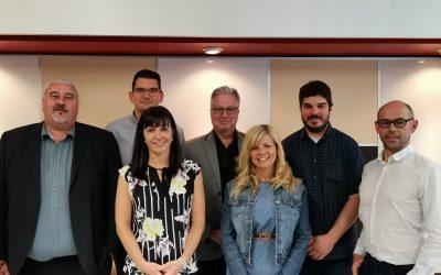 Le Cégep de Trois-Rivières reçoit des représentants  de l'Institut universitaire des technologies de Saint-Malo (IUT)