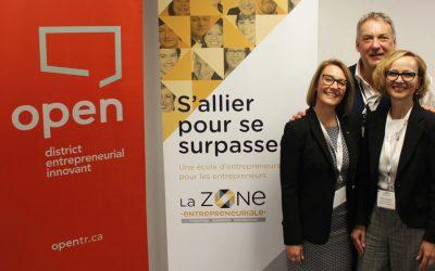 L'Espace 445 ouvre officiellement ses portes avec l'inauguration des nouveaux locaux de la Zone entrepreneuriale