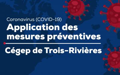 Coronavirus (COVID-19) : application des mesures préventives – 12 mars 2020